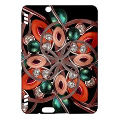Luxury Ornate Artwork Kindle Fire Hdx 7  Hardshell Case by dflcprints