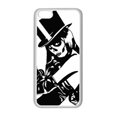 Day Of The Dead Apple iPhone 5C Seamless Case (White) by EndlessVintage