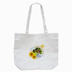 Summer By Summer Time    Tote Bag (white)   Hjupc8cr9mhg   Www Artscow Com Front