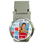summer - Money Clip Watch
