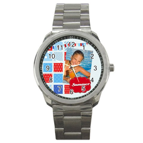 Summer By Summer Time    Sport Metal Watch   Z047b3yowzjt   Www Artscow Com Front