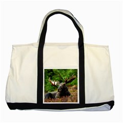 Majestic Moose Two Toned Tote Bag by StuffOrSomething