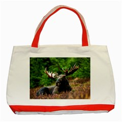 Majestic Moose Classic Tote Bag (red) by StuffOrSomething