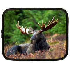 Majestic Moose Netbook Sleeve (xxl) by StuffOrSomething