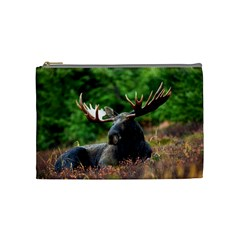 Majestic Moose Cosmetic Bag (medium) by StuffOrSomething