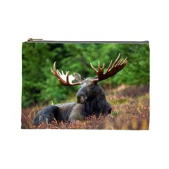 Majestic Moose Cosmetic Bag (large) by StuffOrSomething
