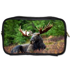 Majestic Moose Travel Toiletry Bag (one Side) by StuffOrSomething