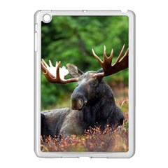 Majestic Moose Apple Ipad Mini Case (white) by StuffOrSomething