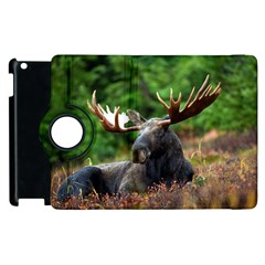 Majestic Moose Apple Ipad 3/4 Flip 360 Case by StuffOrSomething