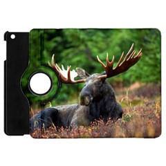 Majestic Moose Apple Ipad Mini Flip 360 Case by StuffOrSomething