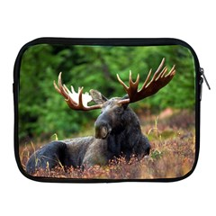 Majestic Moose Apple Ipad Zippered Sleeve by StuffOrSomething