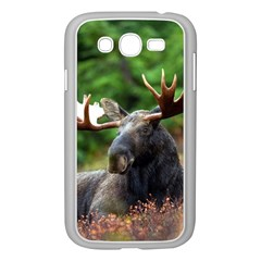 Majestic Moose Samsung Galaxy Grand Duos I9082 Case (white) by StuffOrSomething