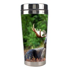 Majestic Moose Stainless Steel Travel Tumbler by StuffOrSomething