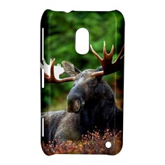 Majestic Moose Nokia Lumia 620 Hardshell Case by StuffOrSomething