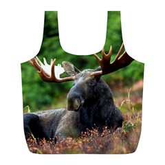Majestic Moose Reusable Bag (l) by StuffOrSomething