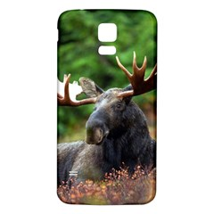 Majestic Moose Samsung Galaxy S5 Back Case (white) by StuffOrSomething