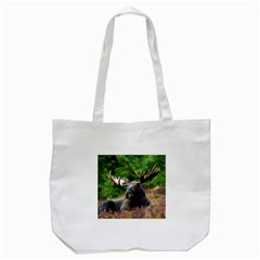 Majestic Moose Tote Bag (white) by StuffOrSomething