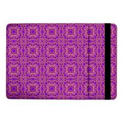 Purple Moroccan Pattern Samsung Galaxy Tab Pro 10 1  Flip Case