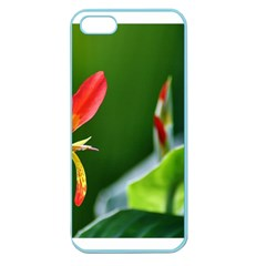 Lily 1 Apple Seamless iPhone 5 Case (Color) by Cardsforallseasons