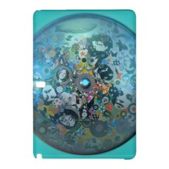 Led Zeppelin Iii Digital Art Samsung Galaxy Tab Pro 10 1 Hardshell Case by SaraThePixelPixie