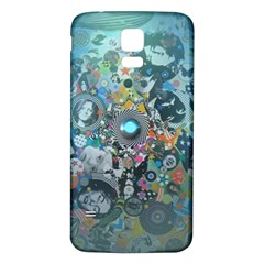 Led Zeppelin Iii Digital Art Samsung Galaxy S5 Back Case (white)