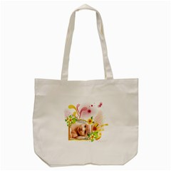 Baby By Wood Johnson   Tote Bag (cream)   Cx2axhyo9bdx   Www Artscow Com Front