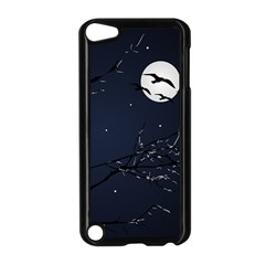 Night Birds And Full Moon Apple Ipod Touch 5 Case (black)