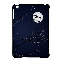 Night Birds And Full Moon Apple Ipad Mini Hardshell Case (compatible With Smart Cover) by dflcprints