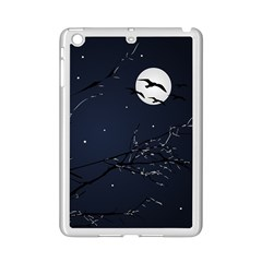 Night Birds And Full Moon Apple Ipad Mini 2 Case (white)