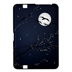 Night Birds And Full Moon Kindle Fire Hd 8 9  Hardshell Case by dflcprints
