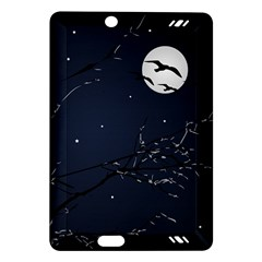Night Birds And Full Moon Kindle Fire Hd 7  (2nd Gen) Hardshell Case by dflcprints