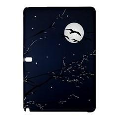 Night Birds And Full Moon Samsung Galaxy Tab Pro 10 1 Hardshell Case by dflcprints
