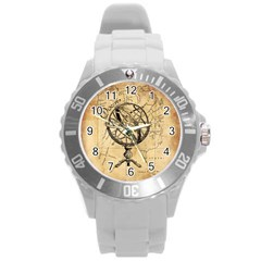 Discover The World Plastic Sport Watch (large) by StuffOrSomething