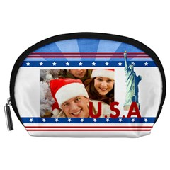 Usa By Mac Book   Accessory Pouch (large)   Di4q4ozpbifq   Www Artscow Com Front