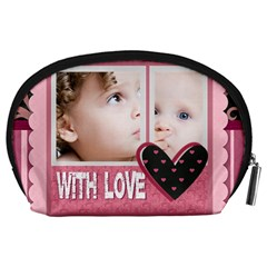 Kids By Mac Book   Accessory Pouch (large)   Wbb5bv7shmrr   Www Artscow Com Back