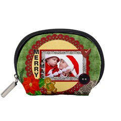 Christmas By Debe Lee   Accessory Pouch (small)   Ng3i05buvlz3   Www Artscow Com Front