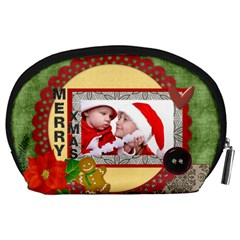 Christmas By Debe Lee   Accessory Pouch (large)   4v6ja8d3z9ve   Www Artscow Com Back