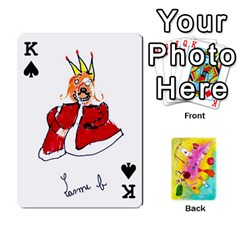 King Jeu Alice By Braunschweig   Playing Cards 54 Designs   L5bryezycv78   Www Artscow Com Front - SpadeK