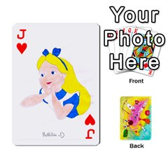 Jack Jeu Alice By Braunschweig   Playing Cards 54 Designs   L5bryezycv78   Www Artscow Com Front - HeartJ