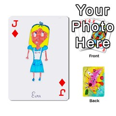 Jack Jeu Alice By Braunschweig   Playing Cards 54 Designs   L5bryezycv78   Www Artscow Com Front - DiamondJ