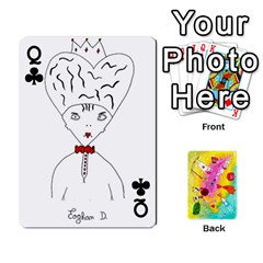 Queen Jeu Alice By Braunschweig   Playing Cards 54 Designs   L5bryezycv78   Www Artscow Com Front - ClubQ
