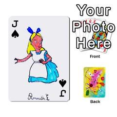 Jack Jeu Alice By Braunschweig   Playing Cards 54 Designs   L5bryezycv78   Www Artscow Com Front - SpadeJ