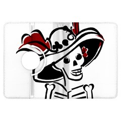Day Of The Dead Kindle Fire HDX 7  Flip 360 Case by EndlessVintage