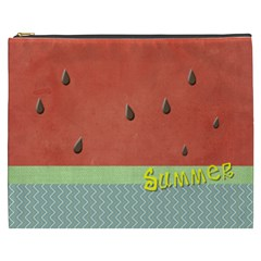 Watermelon By Arts    Cosmetic Bag (xxxl)   S3tt2c05j882   Www Artscow Com Front