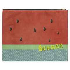 Watermelon By Arts    Cosmetic Bag (xxxl)   S3tt2c05j882   Www Artscow Com Back