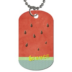Summer By Arts    Dog Tag (two Sides)   Eschbo8dv1so   Www Artscow Com Back