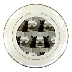 French Bulldog Porcelain Display Plate by StuffOrSomething