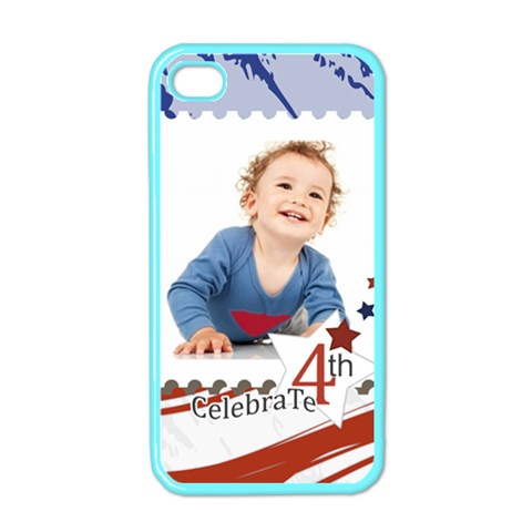 July 4 Usa By Anita   Apple Iphone 4 Case (color)   Wv04nrnfy7ca   Www Artscow Com Front