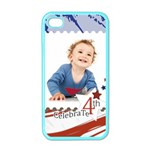 july 4 usa - Apple iPhone 4 Case (Color)