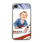 july 4 usa - Apple iPhone 4 Case (Clear)